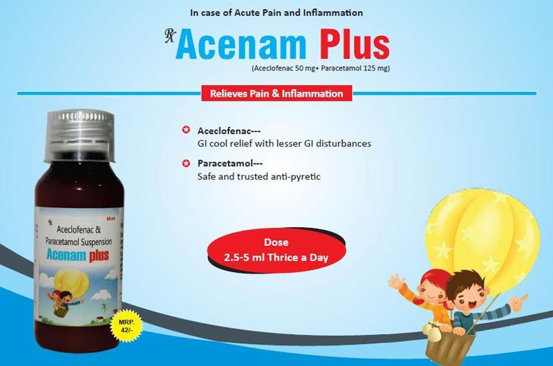 Acenam Plus Syrup