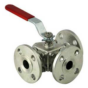 MNC 3 & 4 Way Ball Valve