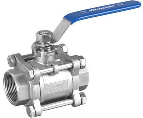 MNC 3 Piece Flanged End Ball Valve