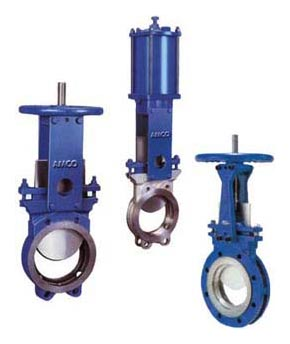MNC Knife Edge Gate Valve