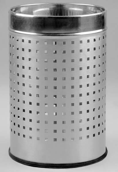 Perforated Metal Dustbin