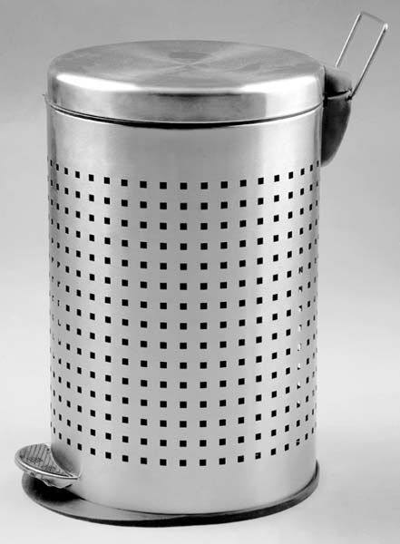 Perforated Paddle Metal Dustbin