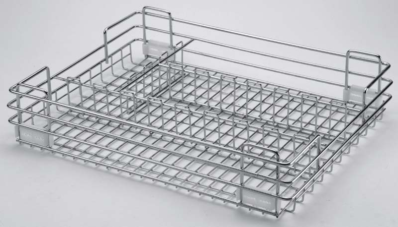 Stainless Steel Wire Cutlery Basket