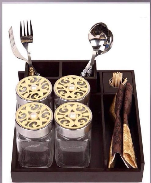 Jar with Cutlery set