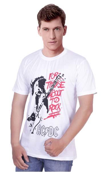 Mens Customized Round Neck T-Shirts