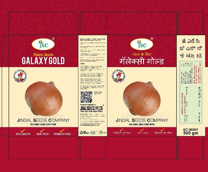 Galaxy Gold Onion Seeds
