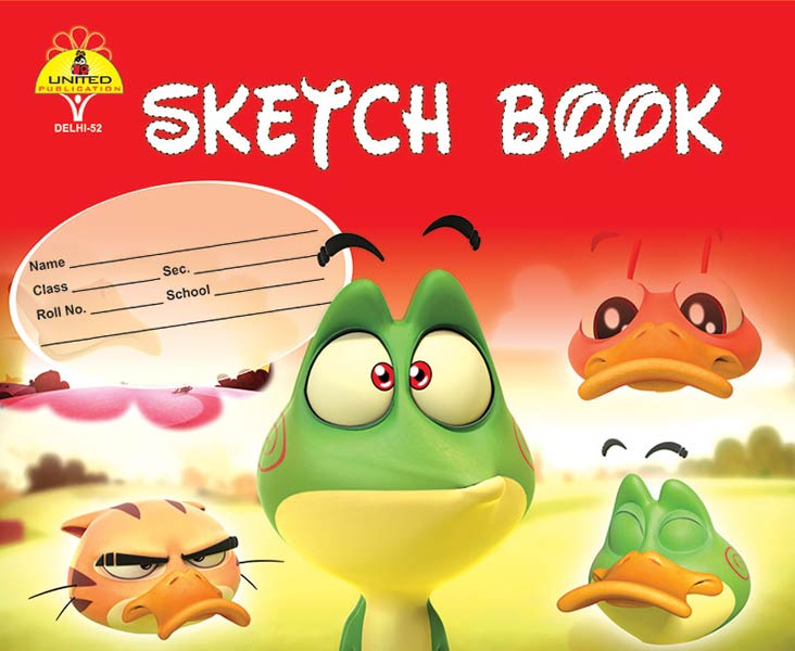 Red Sketch Books