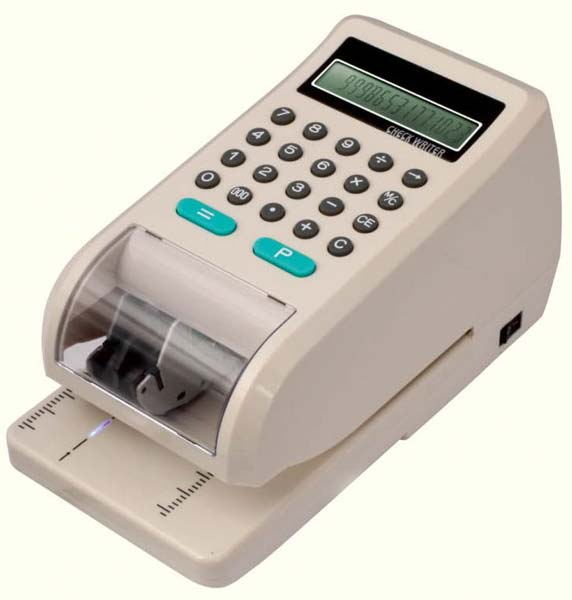 Cheque Writer (CW-01)