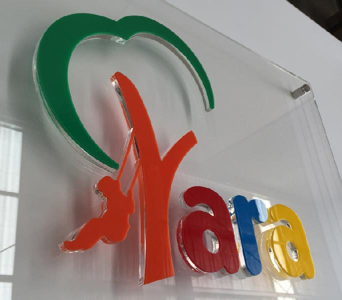 Acrylic Letter Sign Boards
