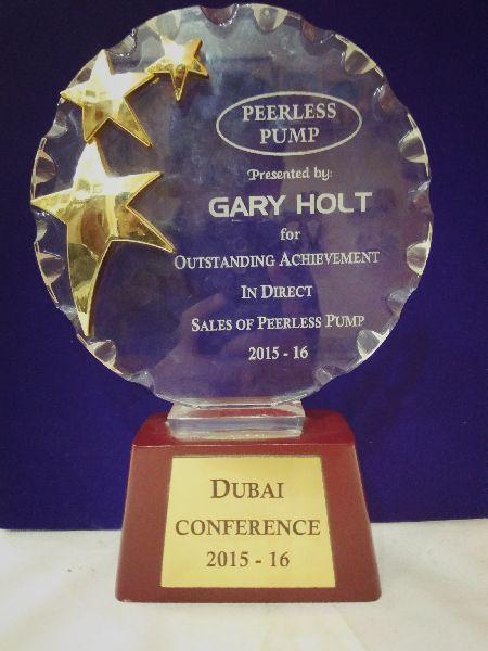 Premium Acrylic Award 07