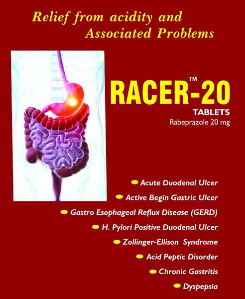 Racer-20 MG Tablets