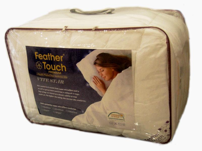 White Microfiber Comforter 02