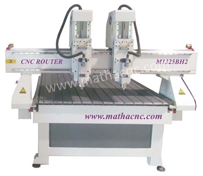 Double Spindle Carving Machine
