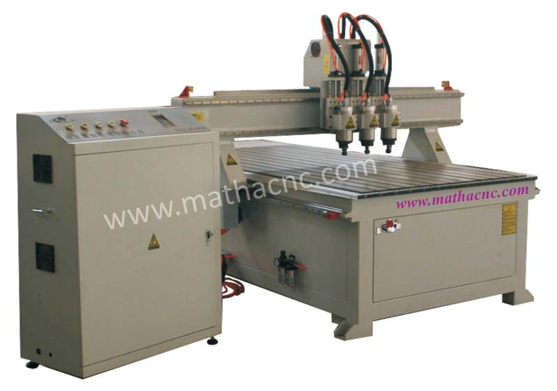 Three Spindle Carving Machine