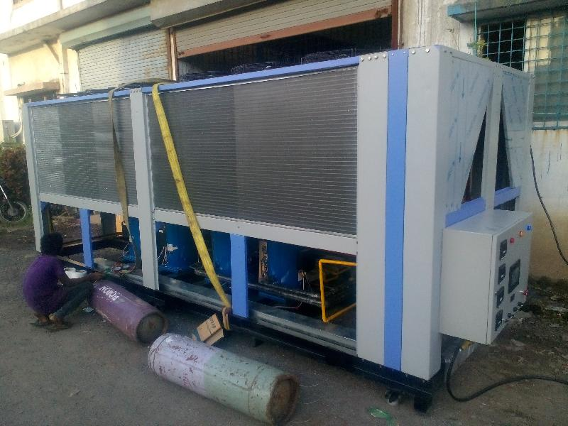 Industrial Air Cooled Water Chiller
