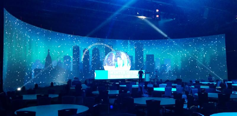 Curved LED Video Wall Screens 05
