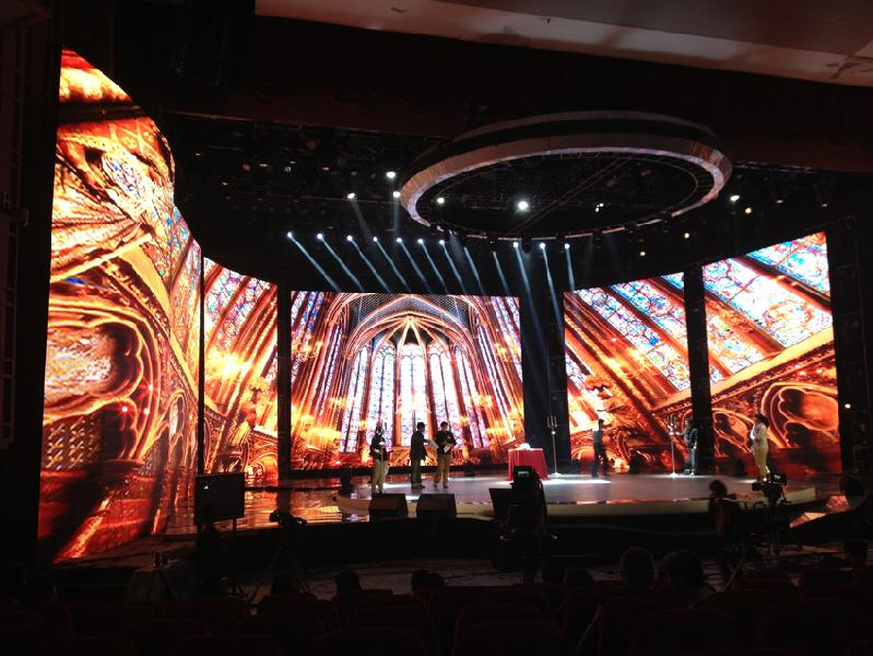 Curved LED Video Wall Screens 06