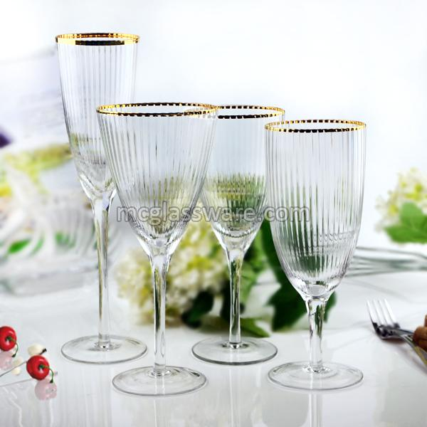Bushy Edge Wine Goblets 01