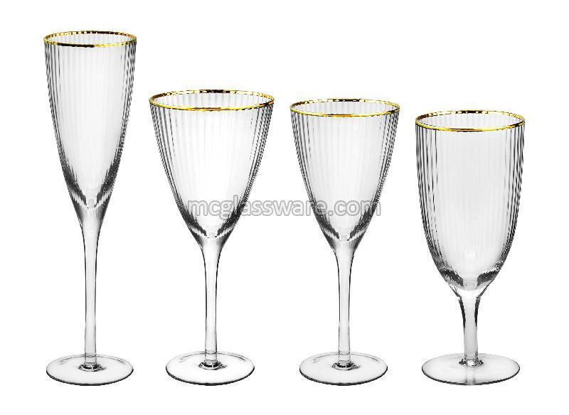 Bushy Edge Wine Goblets 02