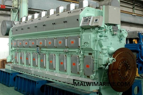 Marine Engine 01