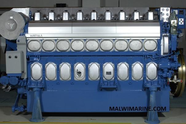 Marine Engine 02