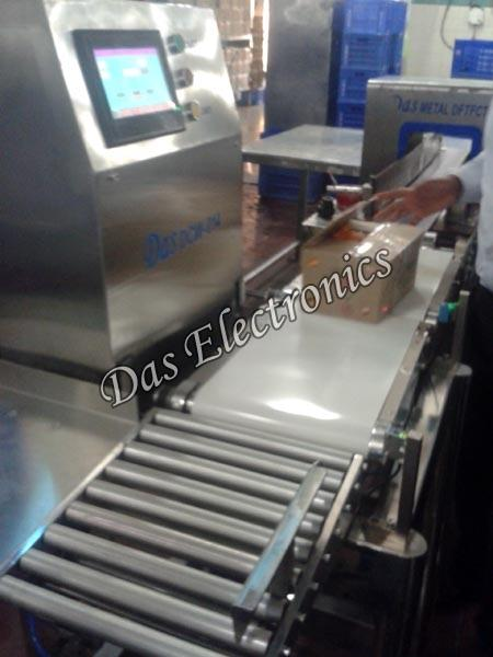 Online Checkweigher Metal Detector
