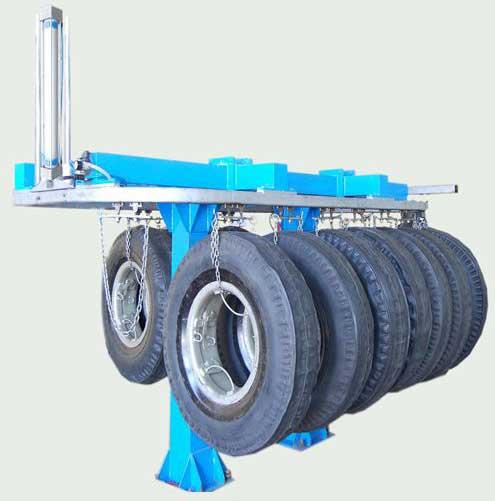 Tyre Retreading Monorail