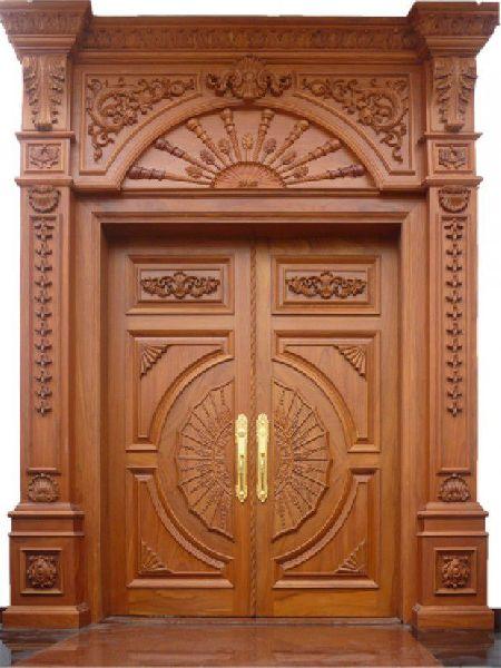 Wood Carving Doors - Manufacturer Exporter Supplier in Bhuj India
