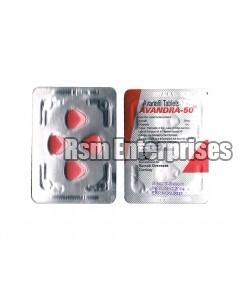 Avanafil 50 mg Tablets