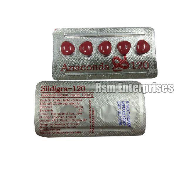 Sildigra-120 (Anaconda) Tablets