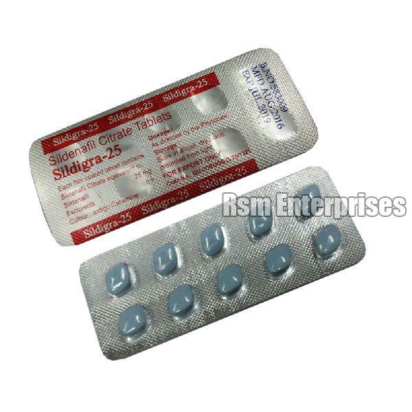 Sildigra-25 Tablets