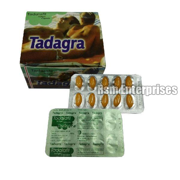 20mg Tadagra Softgel Capsules