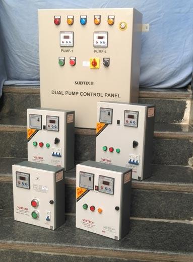 Dual Pump Control Panel