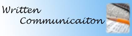 Written Communication Course