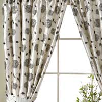 Brocate Silk Curtains