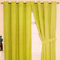 Dyed Sheer Curtains