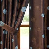 Embroidered Silk Curtains
