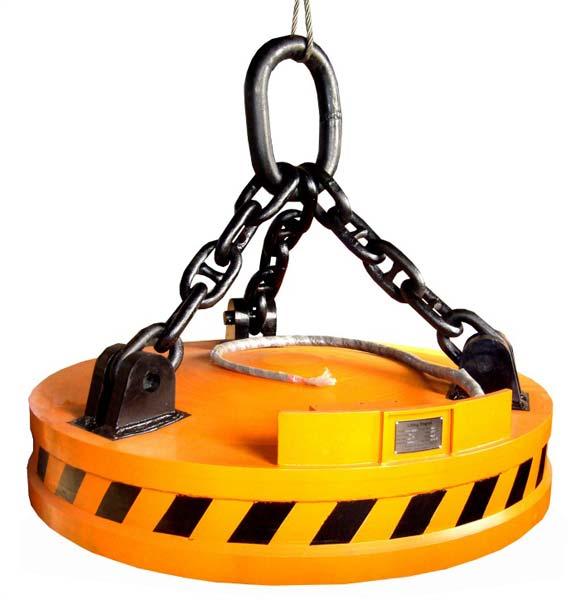 Circular Scrap Lifting Electromagnet