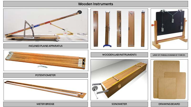 Educational Wooden Instruments