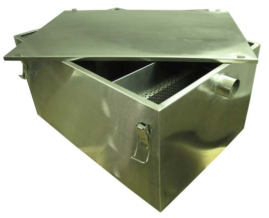 Oil and-grease trap