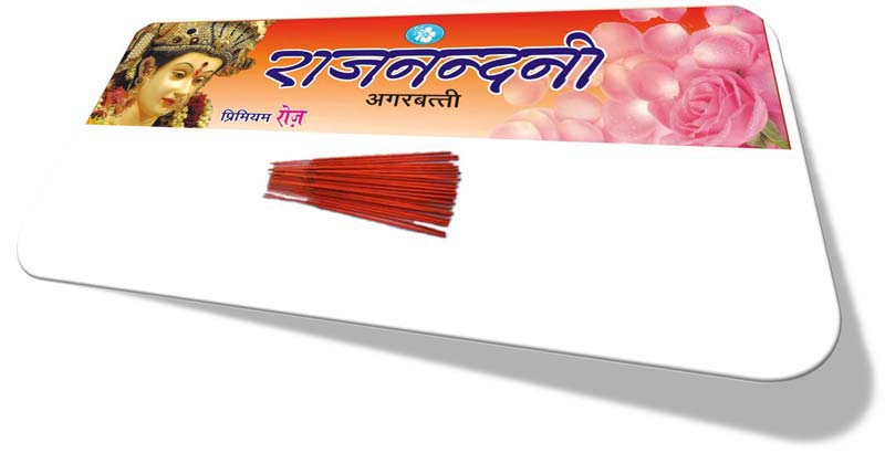 Rajnandini Premium Rose Red Incense Sticks