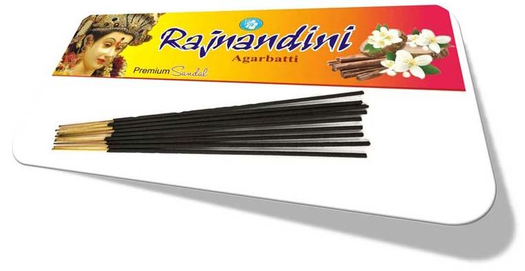 Rajnandini Premium Sandal Black Incense Sticks