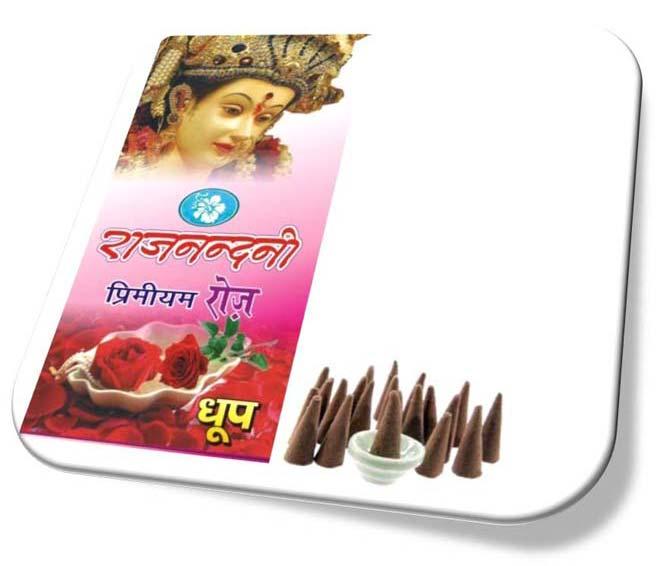 Rajnandini Premium Rose Incense Cones