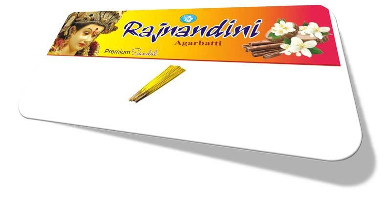 Rajnandini Premium Sandal Yellow Incense Sticks