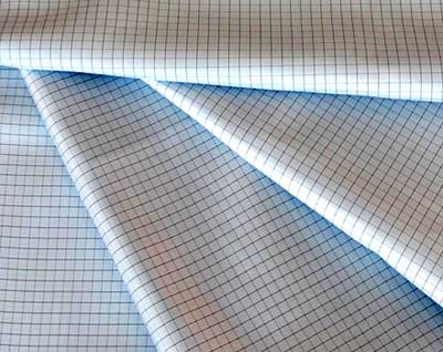 Anti Static Fabric Check Grid Design 01