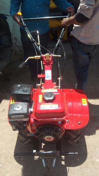 Petrol Operated Power Weeders