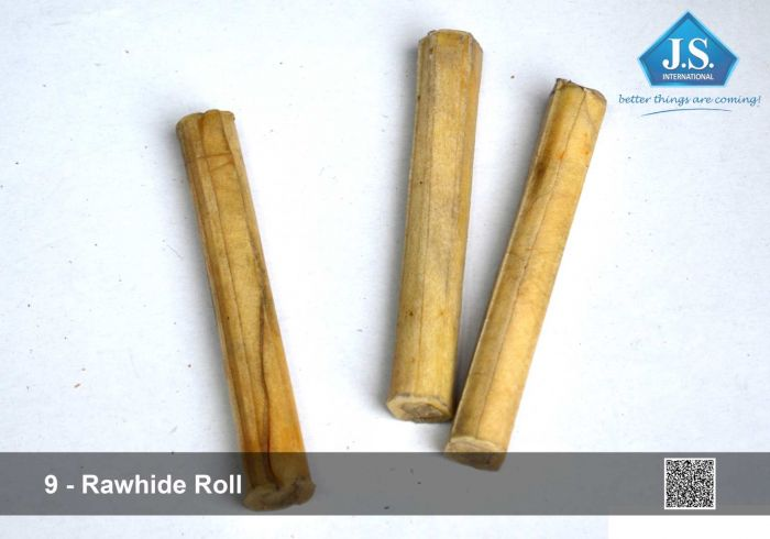 Natural Rawhide Knotted Bone 02