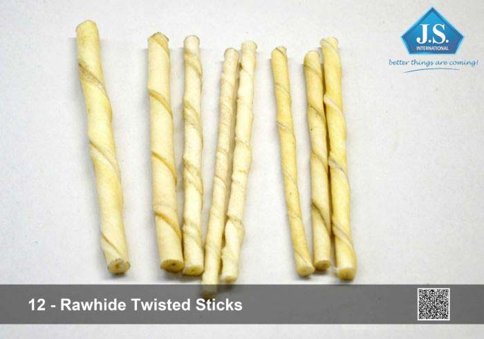 Rawhide Knotted Bone Duo