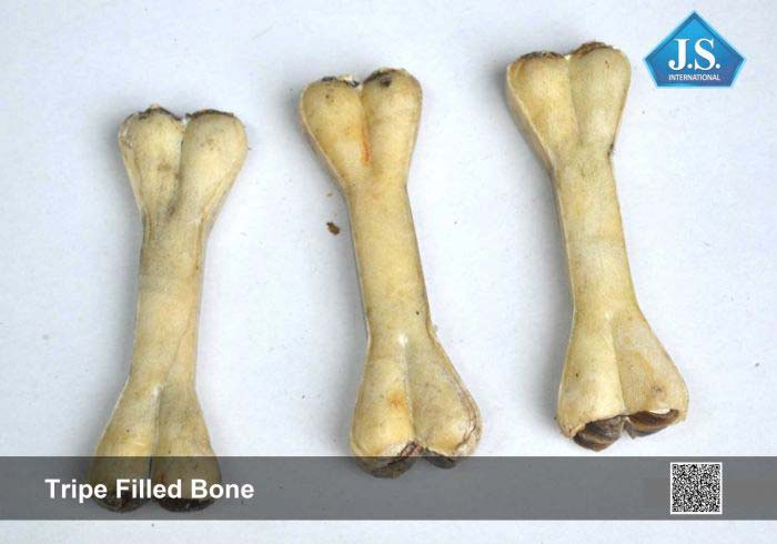 Tripe Filled Bone