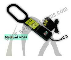 Hand Held Metal Detector- Metscan 01